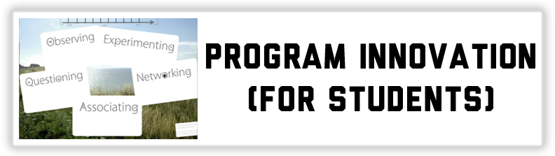 Program Innovation (For Students)